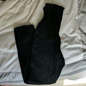Maternity black skinny jeans